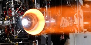 nasa 3d printed rocket engine