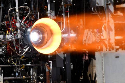 nasa 3d printed rocket engine