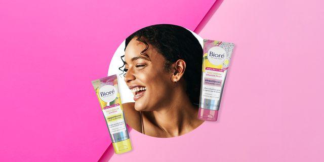 biore brightening scrub and jelly cleanser