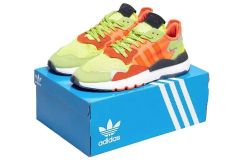 Footwear, Shoe, Orange, Walking shoe, Sneakers, Outdoor shoe, Aqua, Turquoise, Athletic shoe, Running shoe,