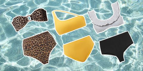 best high waisted swim suits