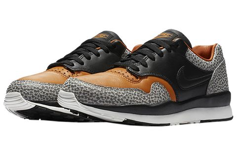 Shoe, Footwear, Sneakers, White, Black, Sportswear, Orange, Brown, Outdoor shoe, Running shoe,