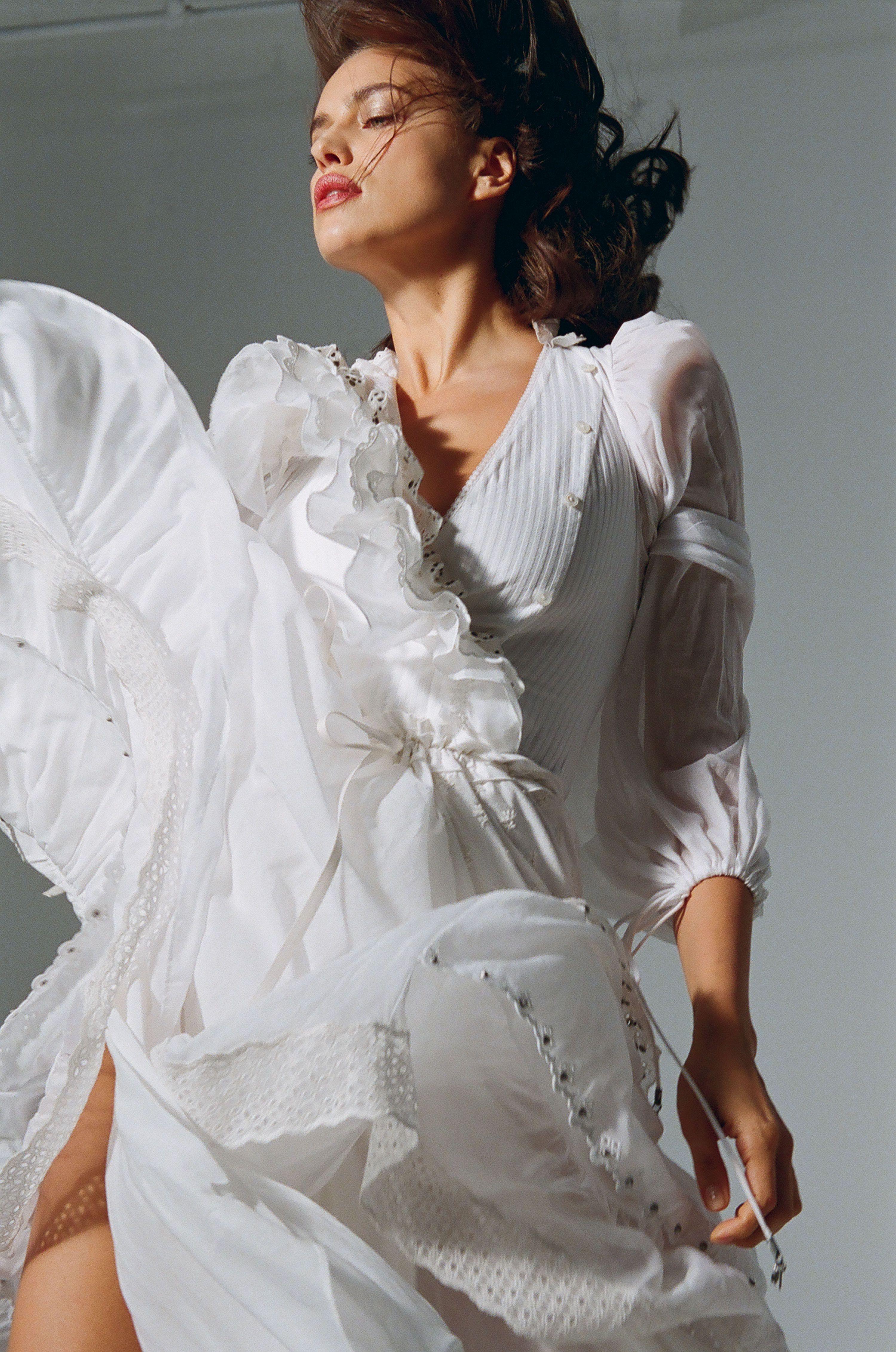 New York Fashion Week Blows Irina Shayk Away