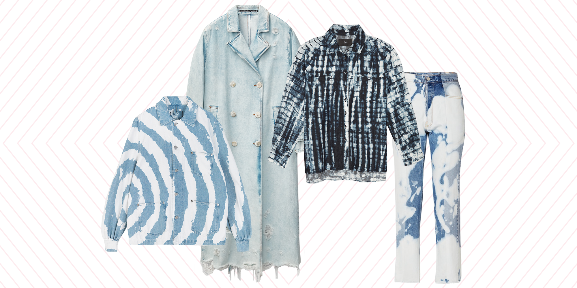 These Bleached Denim Pieces Are Worth the Investment for Spring