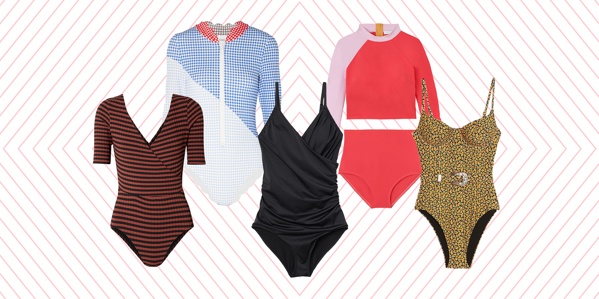12 Modest Swimsuits I'd Happily Trade My String Bikini For