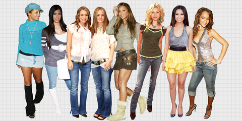 a345c741 22 Fashion Trends From the '00s That Play on Slow Loop In Your Nightmares