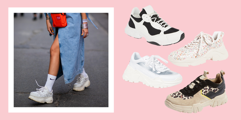 6b15f4b199 13 Chunky Sneakers for Women - Best of the Dad Sneaker Trend 2019
