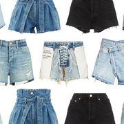 Denim, Clothing, Jeans, Shorts, Pocket, Textile, Fashion, jean short, Waist,