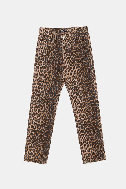Pantalones Leopardo Zara Estos Pantalones Son Los Mas Vendidos De Zara
