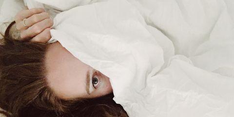 Marijn onder de dekens