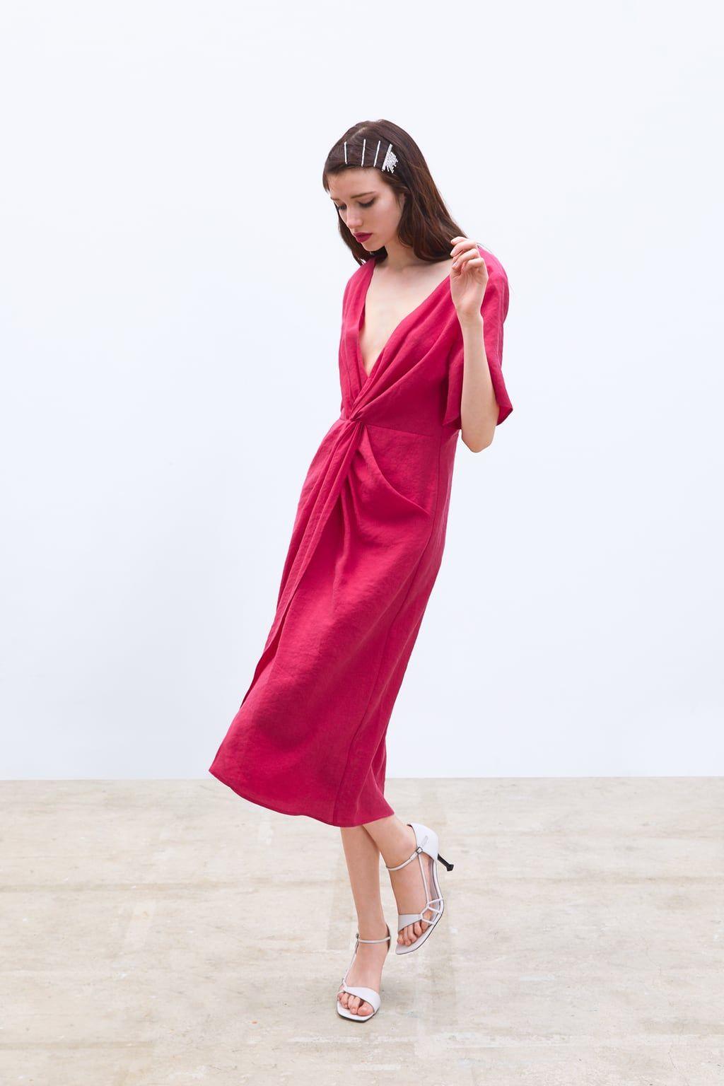 c470aa557 Este vestido de Zara