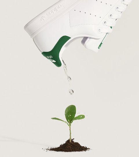 愛迪達小白鞋永續材質