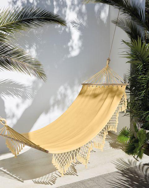 instala en tu terraza o jardín una hamaca de colgar