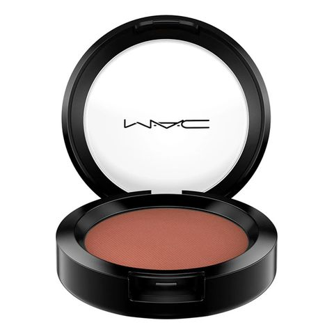 mac cosmetics powder blush in raizin