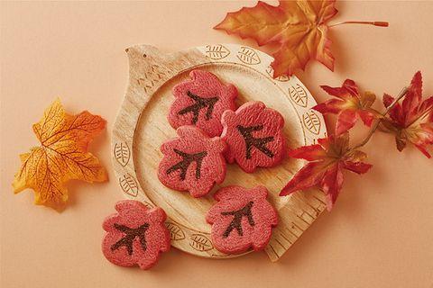 楓葉造型餅乾