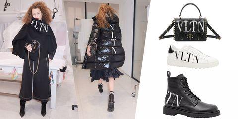 Black, Clothing, Fashion, Footwear, Shoulder, Outerwear, Joint, Leather, Shoe, Jacket,