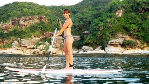 Stand up paddle surfing, Surface water sports, Water, Paddle, Recreation, Surfing Equipment, Boats and boating--Equipment and supplies, Surfing, Water sport, Fun,