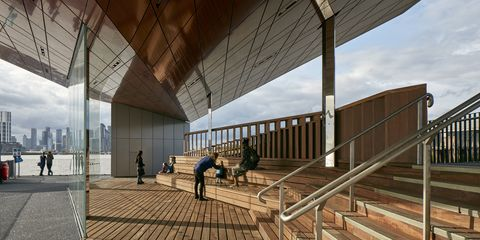 Architecture, Building, House, Room, Wood, Daylighting, Roof, Home, Shade, Interior design,