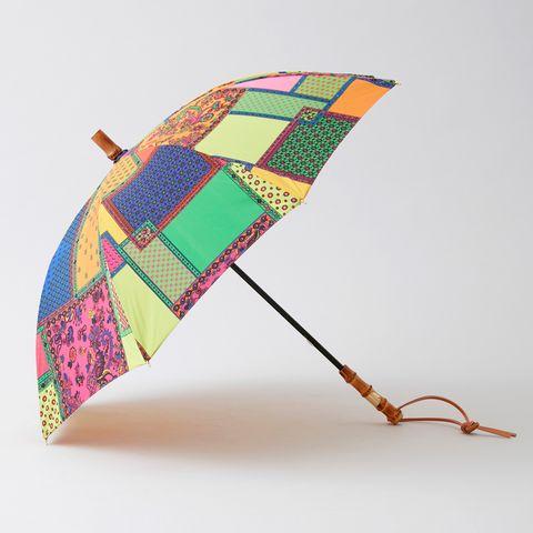 日傘 パッチワーク