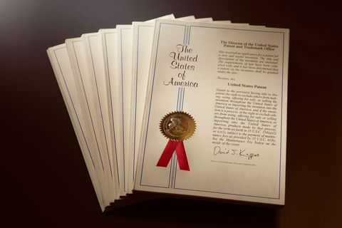 ラザール ダイヤモンドのレーザー刻印に関する特許資料