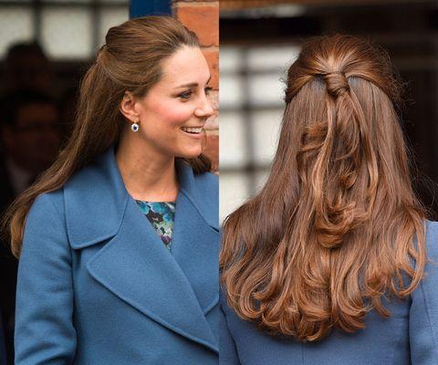 キャサリン妃のヘアアレンジ