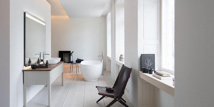 Arredo bagno e sanitari moderni coordinati e versatili per un bagno di design - Coordinati bagno ...
