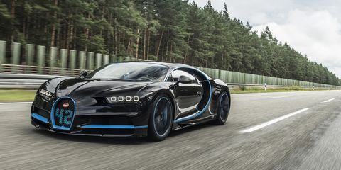 Bugatti CEO: Chiron Top-Speed Run