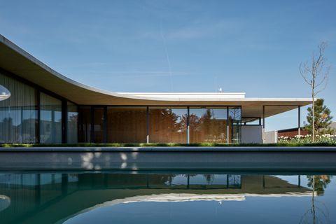 Una casa ecologica studiata per non sembrare la solita for Casa ecosostenibile prefabbricata