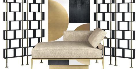 Furniture, Room, Interior design, Living room, Wall, Couch, Wallpaper, Futon, Sofa bed, Chair,