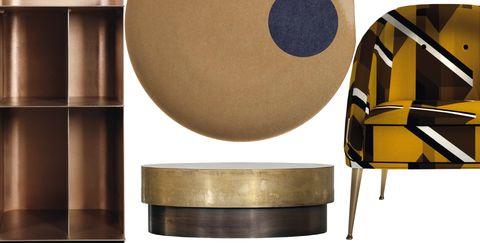 Metal, Table, Copper, Interior design, Art,