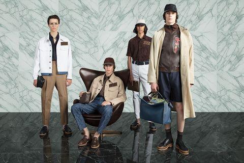 Fashion, Human, Suit, Fashion design, Denim, Photography, Outerwear, Jeans, Jacket, Photo shoot,