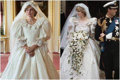 13套《王冠》第4季神還原黛安娜王妃時髦造型