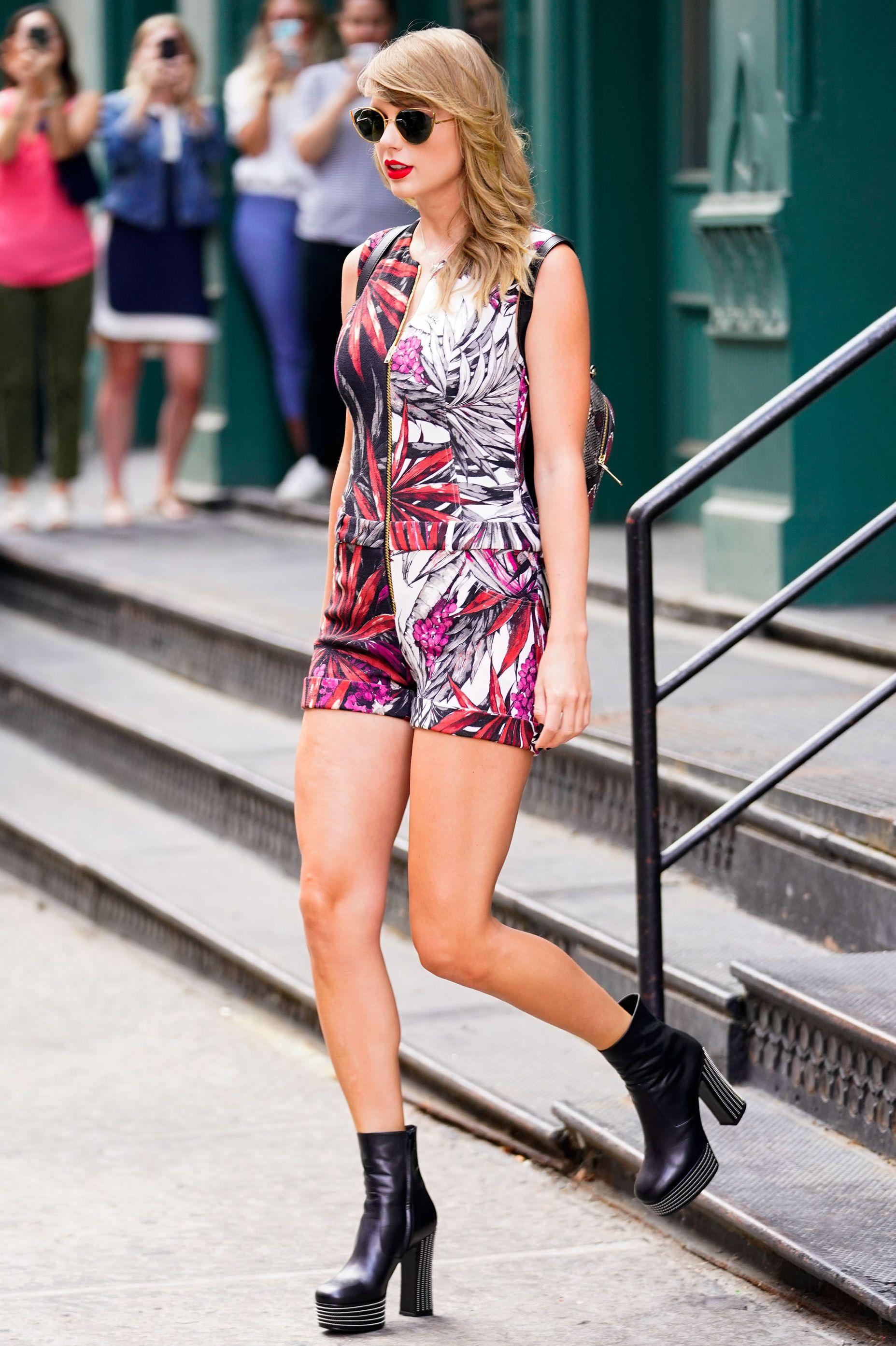Taylor Swift, 泰勒斯, 女星私服穿搭, 女星私服, 女星街拍