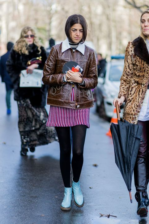 Street fashion, Photograph, Tights, Fashion, People, Clothing, Fur, Snapshot, Beauty, Leggings,