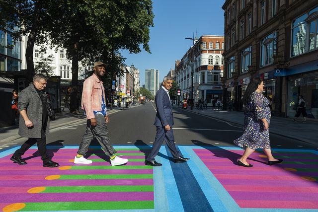 london design festival 2021 installazioni bring london together di yinka ilori