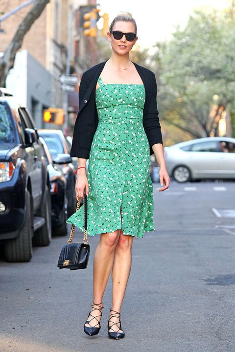 Clothing, Street fashion, Dress, Fashion, Sunglasses, Cocktail dress, Eyewear, Footwear, Shoulder, Fashion model,