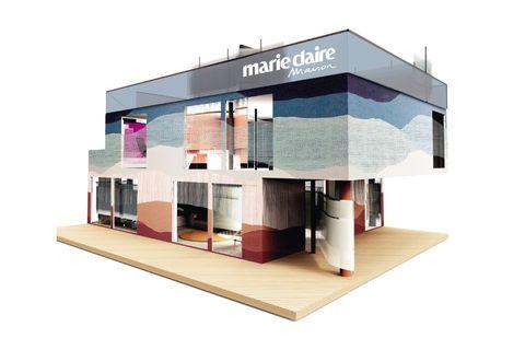 Property, House, Architecture, Building, Design, Interior design, Scale model, Facade, Home,