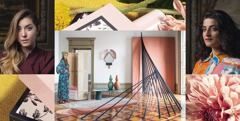 Collage, Textile, Tree, Room, Home, House, Art, Photography, Style,