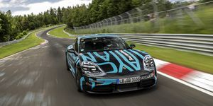 2020 Porsche Taycan at Nurburgring