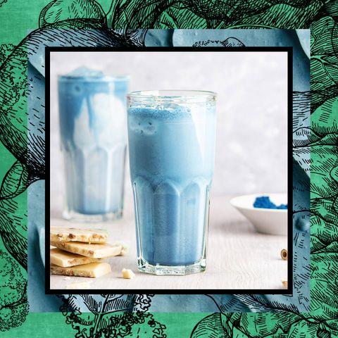 blue magic smoothie