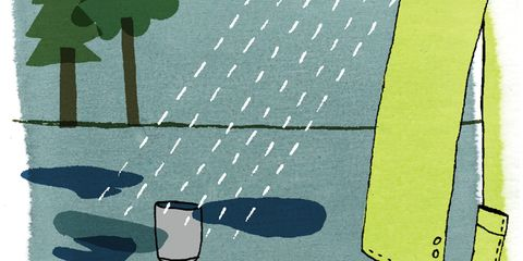 Save Water: Collecting Rainwater