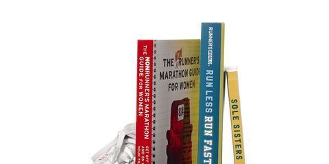 Books with sneaker