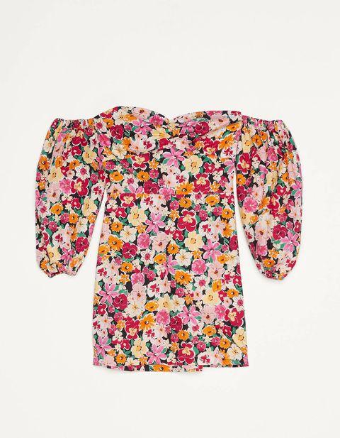 abiti a fiori, vestiti a fiori, vestiti floreali, abito a fiori zara