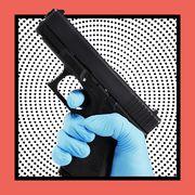 coronavirus and guns trend