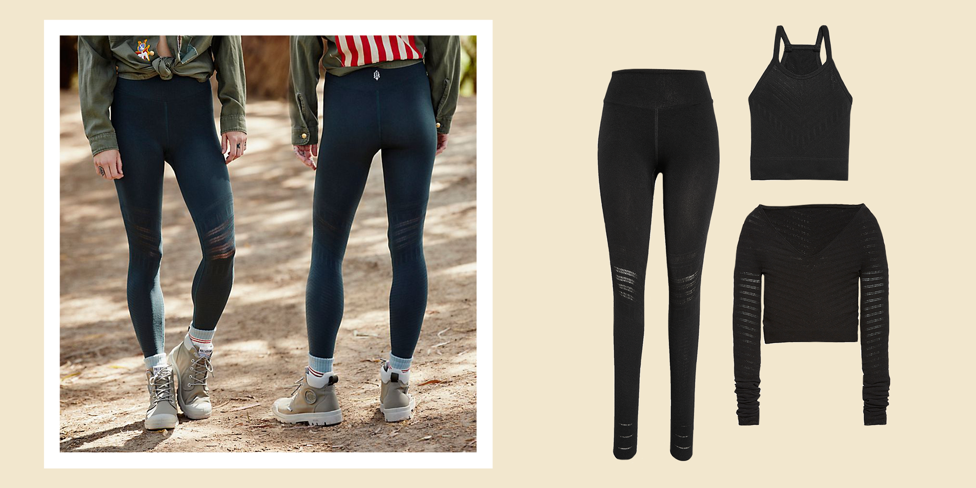 Free People's Econyl Leggings Are Eco-Friendly and Super Comfy