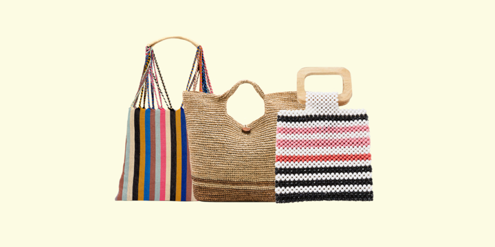15 Beach Bags Under $200 You Won't Mind Schlepping Through the Sand