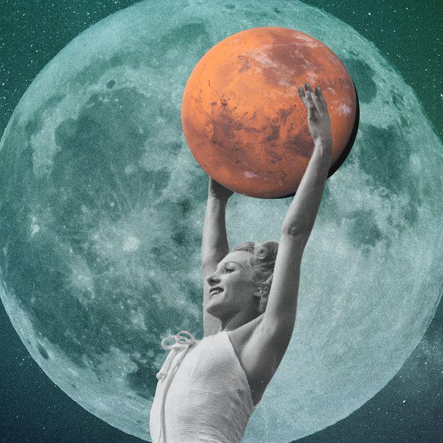 mars woman astronaut