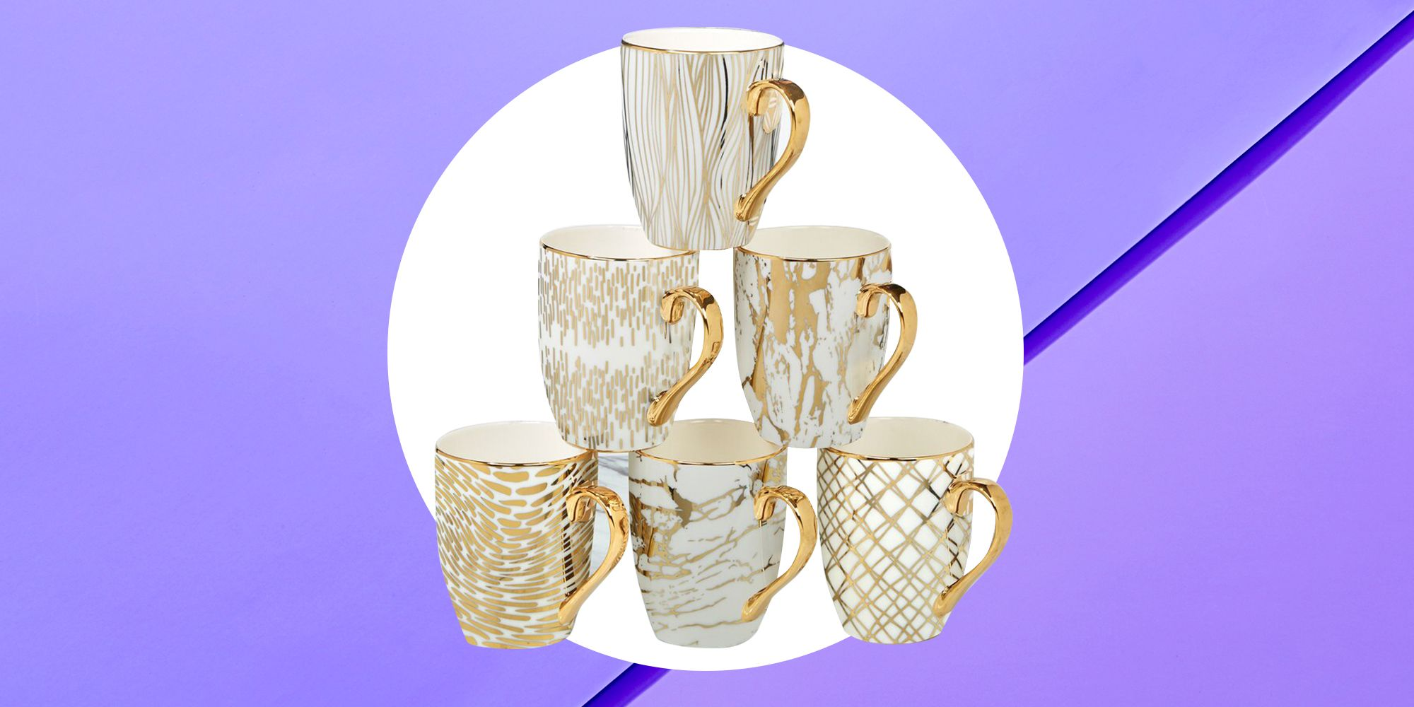 Shop This Set Of 6 Coffee Mugs At Wayfair For Less Than 30
