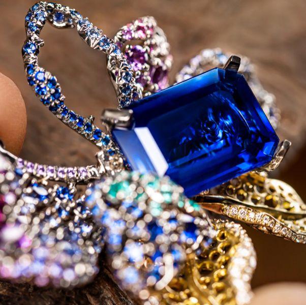 dior藍寶石高級珠寶