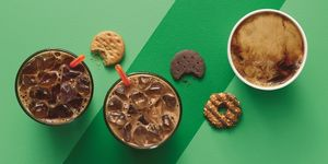 Dunkin' Donuts, Dunkin' Donuts Girl Scouts Cookie Flavored Coffee